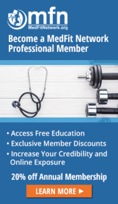 Med Fit Network Professional Member